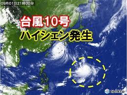 台風で予定がぶっ壊れ 8日は休みます